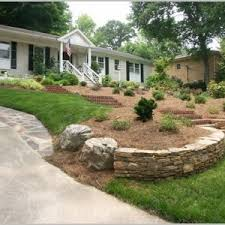 Sloping Backyard Landscaping Ideas Sloped Backyard Landscaping Ideas