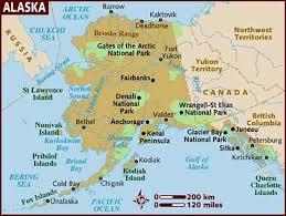 us map of alaska alaska usa up to date information about alaska usa