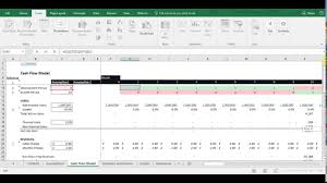 Flow Analysis Excel Template Financial Analysis Basic Flow Model With Free Excel