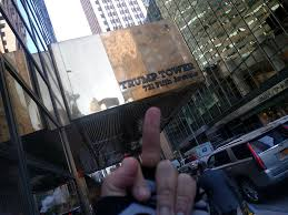 giving the finger to trump tower 2 midtown new york ny u2026 flickr