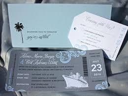 cruise wedding invitations cruise ship wedding invitations inovamarketing co