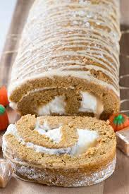 caramel pumpkin cake roll crazy for crust