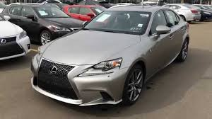 lexus vehicles youtube new atomic silver on black 2015 lexus is 250 awd f sport series
