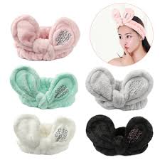 big hair bows 1 pc diy floral rabbit ears headbands big hair bows band