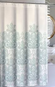 Aqua And Grey Curtains Teal And Gray Shower Curtain Architecture