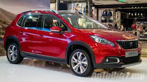 peugeot 2008 crossover 2017 peugeot 2008 facelift launched in malaysia 1 2l turbo