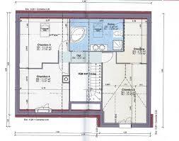 plan maison rdc 3 chambres plan maison etage 2 chambres plan gratuit maison 2 chambres 70m2