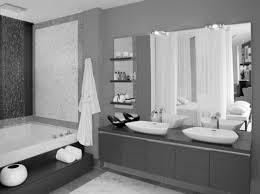 beautiful modern bathroom design grey and white