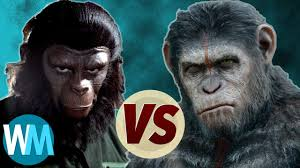 planet of the apes original vs new franchise youtube