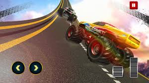 monster truck race track impossible track monster truck android apps on google play