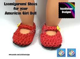 crochet bands loomigurumi maryjane shoes for american girl doll amigurumi