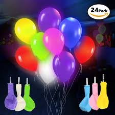 led light up balloons walmart 24 pack led light up balloons mixed colors premium party lights