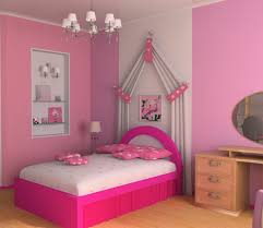 bedroom engaging pink teen bedroom decoration using light