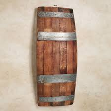 bello recycled wine barrel wall panel