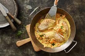 cuisiner escalopes de dinde escalope de dinde et sauce aux carottes recette fooby ch
