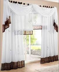 gardinen design schön gardinen wohnzimmer mit weiß braun farbe für moderne