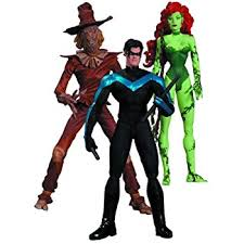 Nightwing Halloween Costume Amazon Dc Collectibles Hush Scarecrow Nightwing Poison