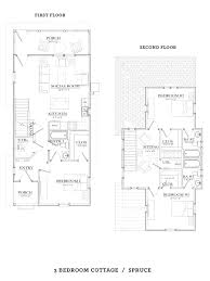 3 bedroom cabin floor plans 3 bedroom cottage cottage grove at gainesville