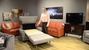Omnia Leather Chairs Omnia Dreamsations Cot Chair U0026 1 2 Sleeper 020915 2 Youtube