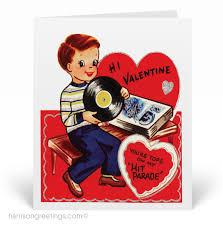 vintage valentines 1950s vintage cards val121 harrison greetings
