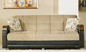 luna bed luna fulya brown convertible sofa bed with storage marjen of