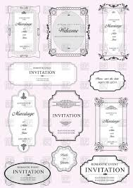 figured frames with ornamental elements vector clipart