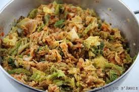 cuisiner chou recette chou vert la tomate la cuisine familiale un plat cuisiner le
