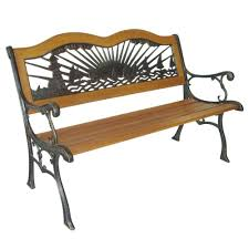 Wrought Iron Benches For Sale Park Benches For Sale Plaza Strap Metal Bench Without Backrest