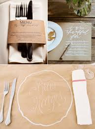 Kraft Paper Table Settings From Left To Right Cat Mayer Studio - Design a table setting