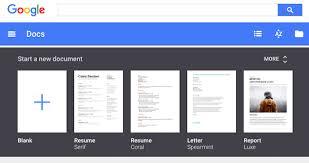Resume Templates For Google Docs Templates Google Docs Best Business Template