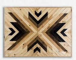 wood geometric wood wall geometric catwallart catwallart