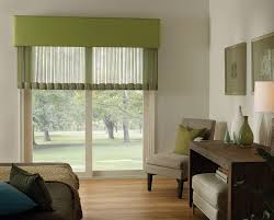 Fabric Covered Wood Valance Sheer Curtains 3 Blind Mice Window Coverings