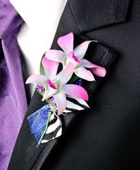 purple orchids posh purple orchids prom boutonniere in woonsocket ri fontana s