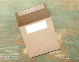 recycled cards eco friendly envelopes kraft by greenearthsupplies