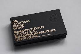 different ways of creating handmade business cards embossed