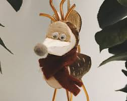 Reindeer Decoration Reindeer Decoration Etsy