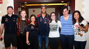 the big texas breakfast red bull racing formula one team