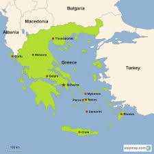 Ancient Greece On A World Map by Greece Vacations With Airfare Trip To Greece From Go Today