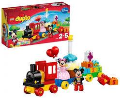 Anniversaire Tracteur by Lego Duplo 10597 Pas Cher La Parade D U0027anniversaire De Mickey Et