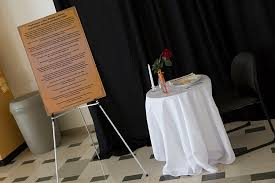 Fallen Comrade Table by Veterans Honored With Week Of Activities At Uwm Uwm Report