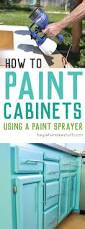 Diy Painting Kitchen Cabinets Best 20 Spray Paint Cabinets Ideas On Pinterest Diy Bathroom