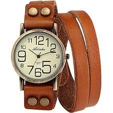 bracelet leather watches images Ailisha lady women korea style orange long bracelet jpg