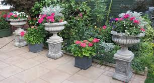 Stone Urn Planter by Stone Garden Urns And Stone Planters In Uk Geoffs Garden Ornaments