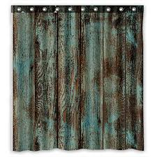rustic curtains amazon com