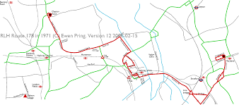London Bus Map Rlhs From Dalston Garage Route 178