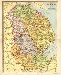 Map Of England And Wales by Lincolnshire Genealogy Heraldry And Family History