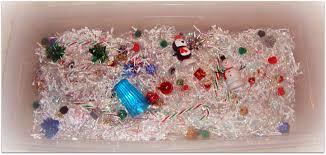 sensational saturday christmas sensory bin motherhood and other