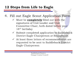 saddleback district orange county council boy scouts of america