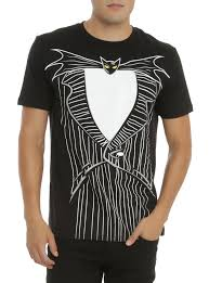 the nightmare before tuxedo t shirt topic