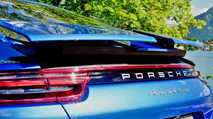 porsche panamera turbo 2017 back porsche panamera 2017 retractable rear spoilers youcar youtube